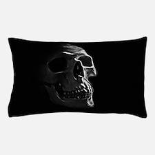 Human Skull Pillow Case