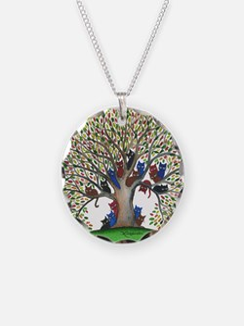 Autumn Stray Cats Necklace