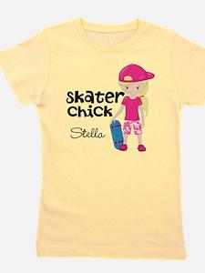 Skater Chick Girl's Tee