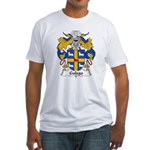 Galego Family Crest  Fitted T-Shirt