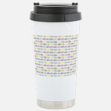 Colorful Bicycles Stainless Steel Travel Mug