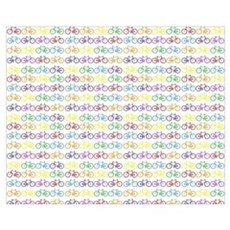 Colorful Bicycles Canvas Art
