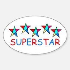 SUPERSTAR Oval Decal