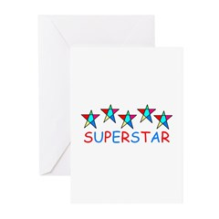 SUPERSTAR Greeting Cards (Pk of 10)