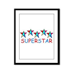 SUPERSTAR Framed Panel Print