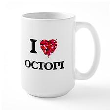 I Love Octopi Mugs