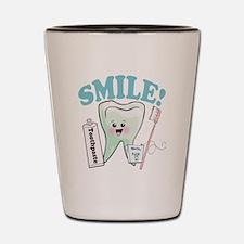 Smile Dentist Dental Hygiene Shot Glass