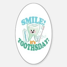 Smile Dentist Dental Hygiene Decal