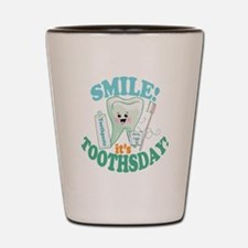 Smile Dentist Dental Hygiene Shot Glass