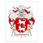 Gachineiro Family Crest Small Poster