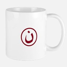 Red Nazarene Symbol Mugs