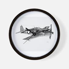 F6F Hellcat Wall Clock