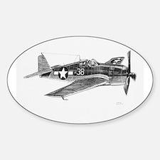 F6F Hellcat Oval Decal