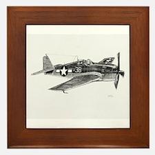 F6F Hellcat Framed Tile