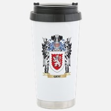 Gray Coat of Arms - Fam Travel Mug