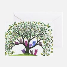 Payette Stray Cats Greeting Card