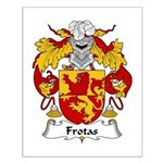 Frotas Family Crest  Small Poster