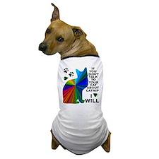 Rainbow Catnip Dog T-Shirt