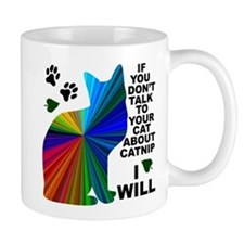 Rainbow Catnip Small Mug