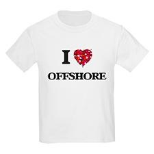 I Love Offshore T-Shirt