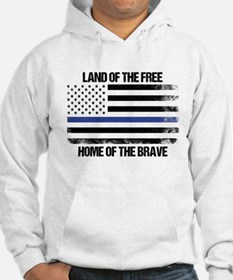 Land Of The Free, Home Of The Brave Hoodie