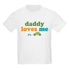 Daddy Loves Me Cars T-Shirt