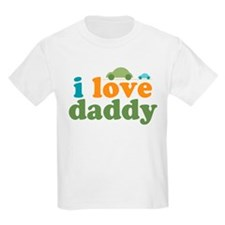 I Love Daddy Cars T-Shirt