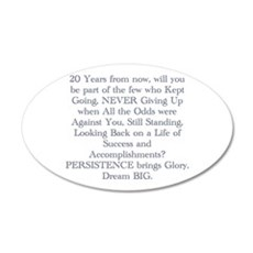 PERSISTENCE Wall Decal