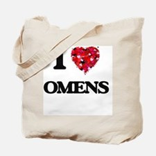 I Love Omens Tote Bag