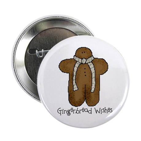 Gingerbread Wishes Button