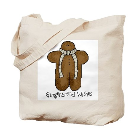 Gingerbread Wishes Tote Bag