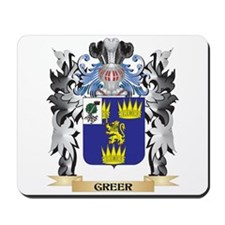 Greer Coat of Arms - Family Crest Mousepad
