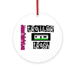JTP Logo Trailer Trash Ornament (Round)