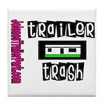 JTP Logo Trailer Trash Tile Coaster