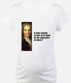 """Voltaire """"So Wise"""" Shirt"""