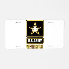 US ARMY VETERAN Aluminum License Plate