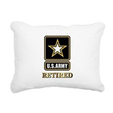 US ARMY RETIRED Rectangular Canvas Pillow