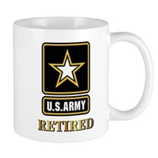 US ARMY RETIRED Mugs