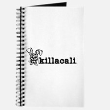 KillaCali Skull Bunny Whites Journal