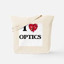 I Love Optics Tote Bag