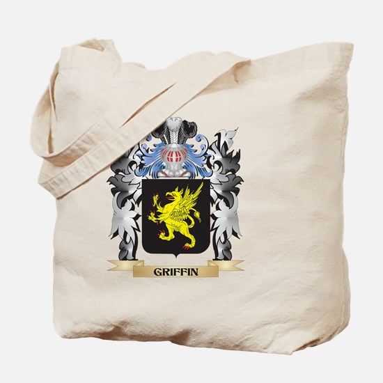 Griffin Coat of Arms - Family Crest Tote Bag