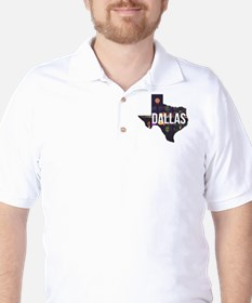 Dallas Texas Silhouette T-Shirt