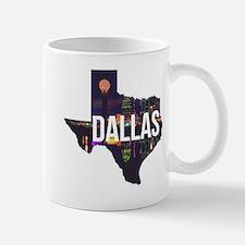 Dallas Texas Silhouette Mug