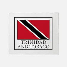 Trinidad and Tobago Throw Blanket