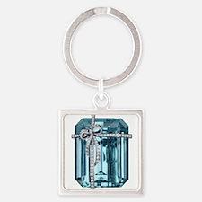 Blue-Brooch_73_iPhone_tran Keychains