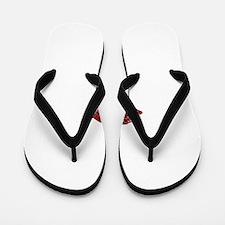 SPARKLING_LIPS Flip Flops