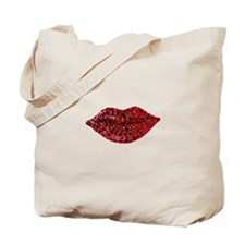 SPARKLING_LIPS Tote Bag