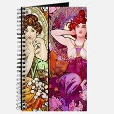 Mucha Gems Topaz, Ruby Ladies Journal
