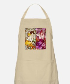 Mucha Gems Topaz, Ruby Ladies Apron