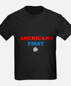 Americans First T-Shirt